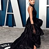 Josephine Skriver at the Vanity Fair Oscars Afterparty 2020