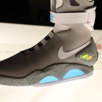 Nike Air MAG Back to the Future Shoes Pictures