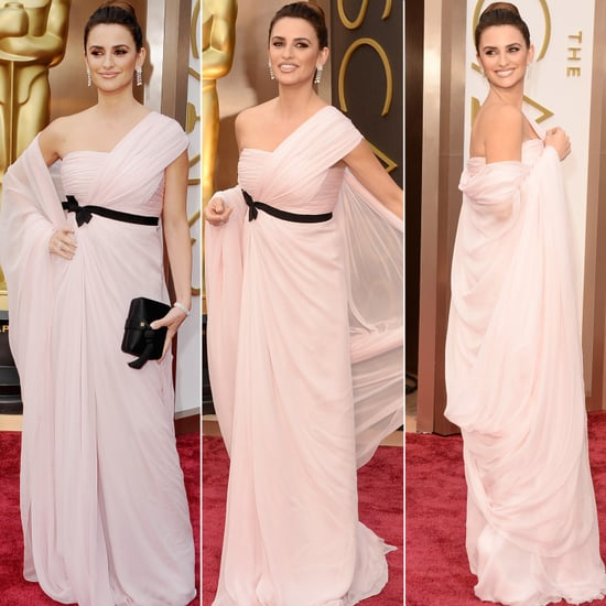 Penélope Cruz on the 2014 Oscars Red Carpet