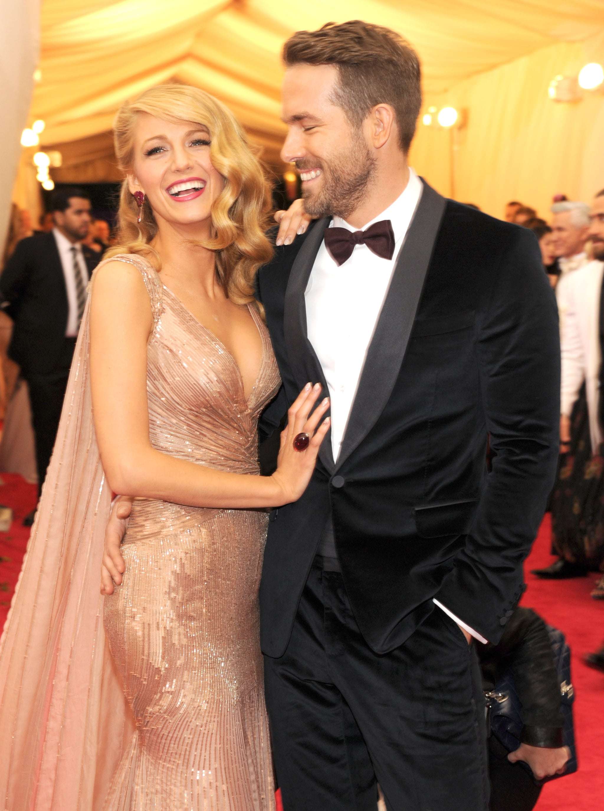 Blake Lively and Ryan Reynolds Win Cutest Couple at the Met Gala