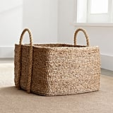 Celeste: Tyler Square Basket With Rope Handle