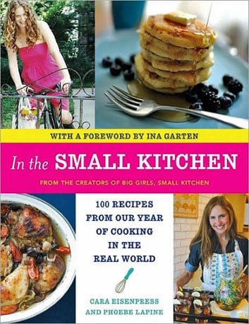 We're huge fans of the blog Big Girls Small Kitchen. The lovely ladies who brought us the blog have put out a book appropriately titled In the Small Kitchen. Kicked off with a heartfelt foreword by the Barefoot Contessa herself, we couldn't be more excited for them!  Can't Wait to Taste: Sexy-Ugly Onion Tart