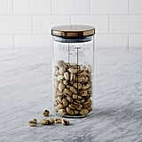 West Elm Glass Canisters