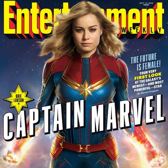 Entertainment Weekly Captain Marvel Cover Sept. 2018