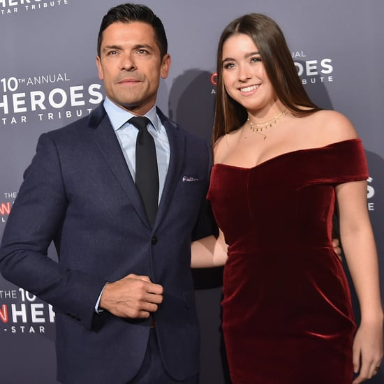 Mark Consuelos and Lola Consuelos at CNN Heroes Event 2016