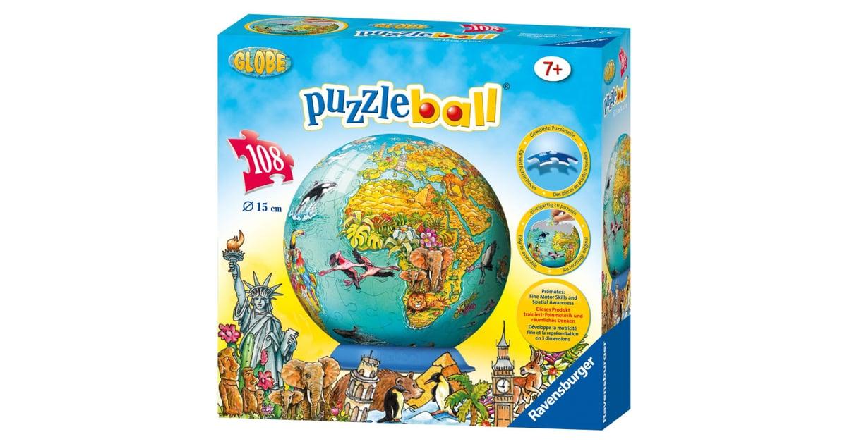 Ravensburger world map puzzleball globe themed games decor and ravensburger world map puzzleball globe themed games decor and toys popsugar moms photo 10 gumiabroncs Choice Image