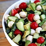 Cucumber-Avocado Caprese Salad