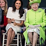 June: Meghan and Queen Elizabeth II Had Their First Royal Engagement Together