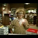 The bookstore was the very first to have TV commercials.