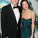Tim Robbins and Eva Amurri Martino at the Golden Globes.