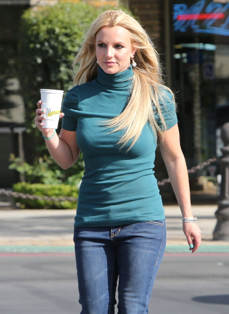 Britney Spears Makes a Coffee Stop After Showing Support For Will.i.am