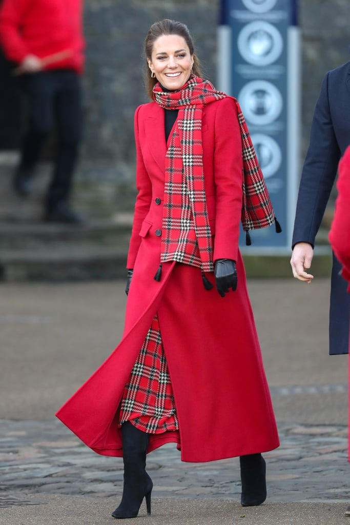 Kate Middleton's Festive Royal Train Tour Outfits 2020