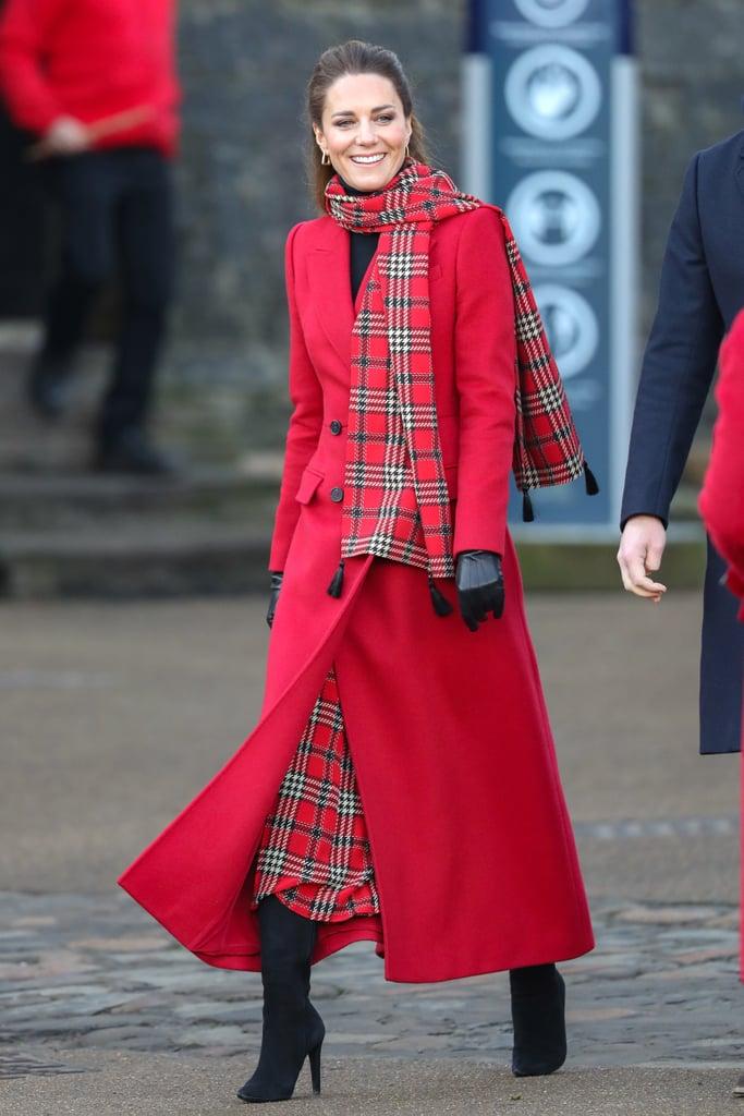 See Kate Middleton's Festive Royal Train Tour Outfits 2020