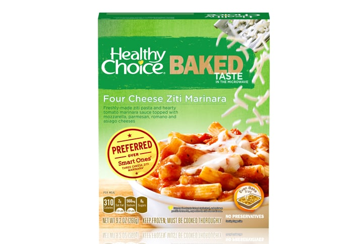 Healthy Choice Four Cheese Ziti Marinara
