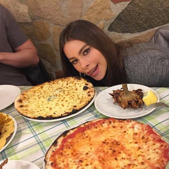 Sofia Vergara's Vacation in Rome Instagrams