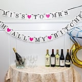 Classy and Sassy Party Banner and Diamond Ring Balloon ($17)
