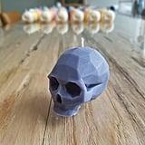 Edgytown Candles Geometric Bougie Skull
