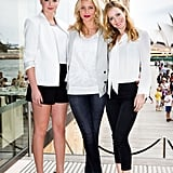 Kate Upton, Cameron Diaz, and Leslie Mann