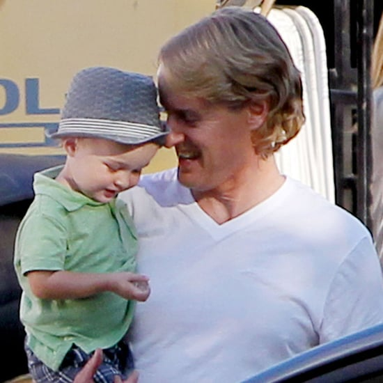 Owen Wilson With Son Robert Ford on Set | Pictures