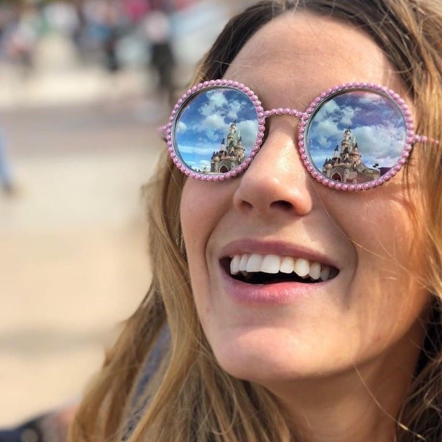 4e99e696e46 Miu Miu Cutout Round-Frame Glittered Acetate and Gold-Tone Sunglasses