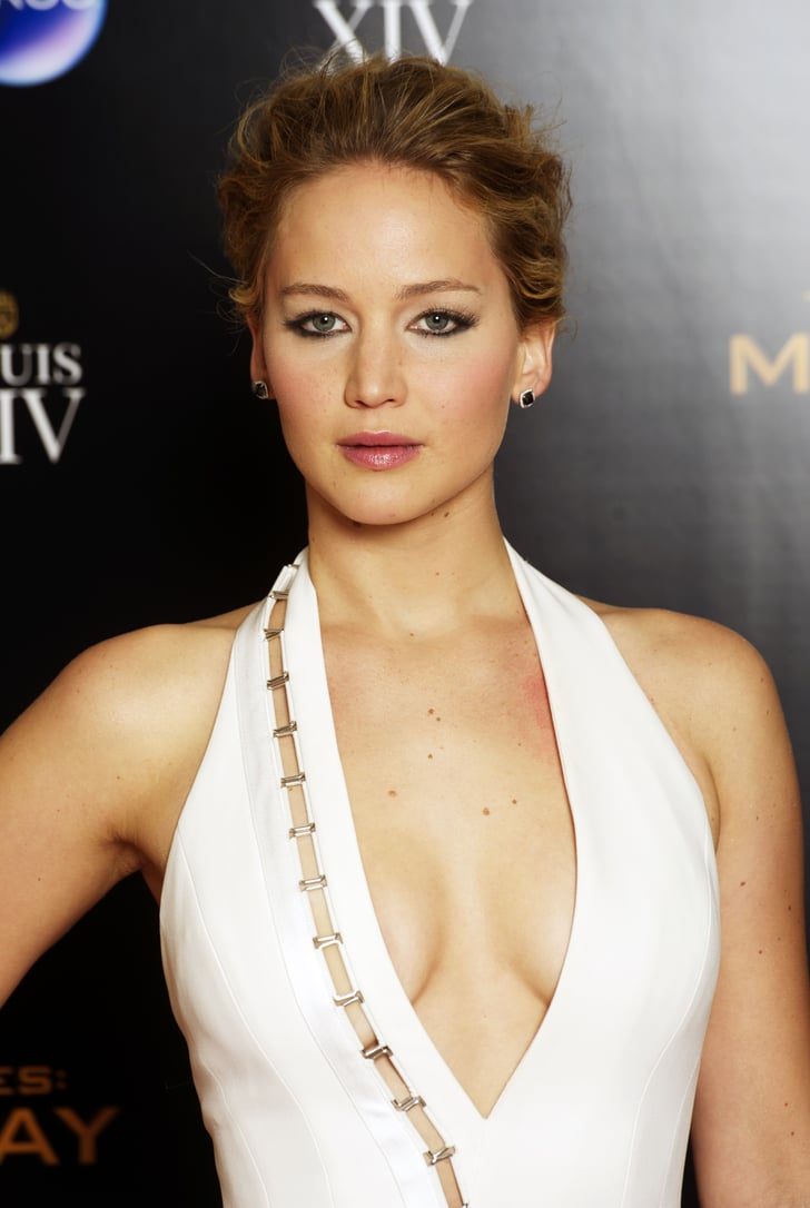 Jennifer Lawrence At Mockingjay Part 1 World Premiere