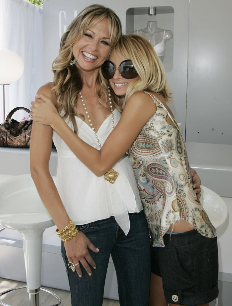 Rachel Zoe joined her pal Nicole Richie at a shopping event at LA's The Grove in July 2005.