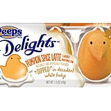 New: Peeps Delights Pumpkin Spice Latte Flavored Marshmallow Dipped in White Fudge ($2)