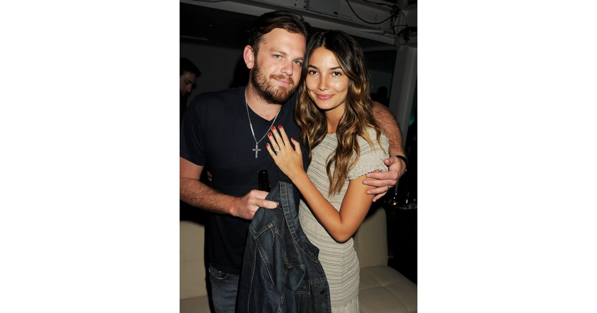 How long have caleb followill and lily aldridge been dating for three