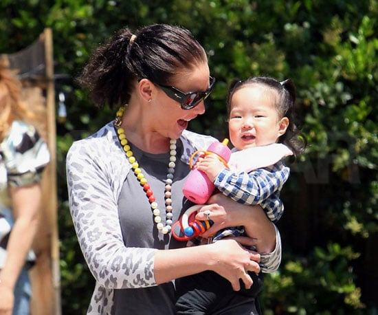 Slide Picture of Katherine Heigl and Naleigh at Party in Pasadena