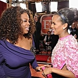 Oprah and Kerry Washington Couldn't Contain Their Excitement at the SAG Awards
