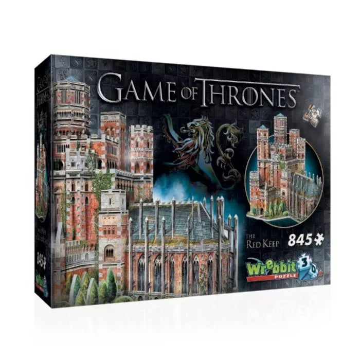 Wrebbit The Red Keep 3D Puzzle 845pc