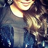 Chrissy showed off what she's got with a close-up selfie. Source: Instagram user chrissyteigen