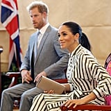 Meghan Markle Striped Dress in Tonga 2018
