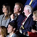 Prince Harry and Meghan Markle at Invictus Games 2017