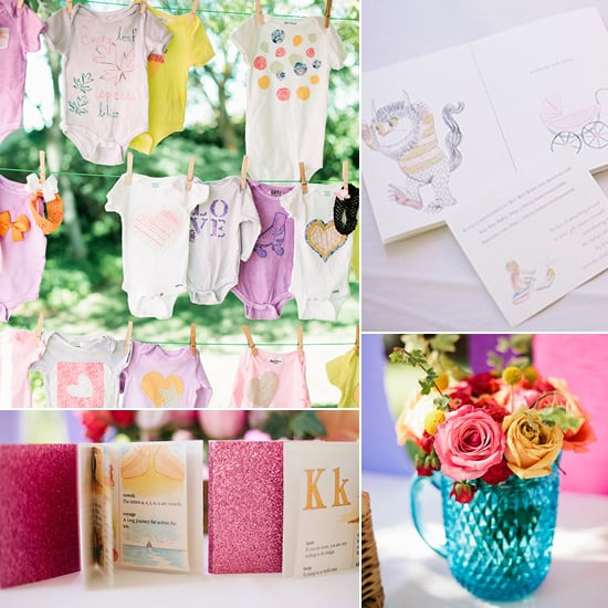 Classic Storybook Baby Shower With Girlie Colors