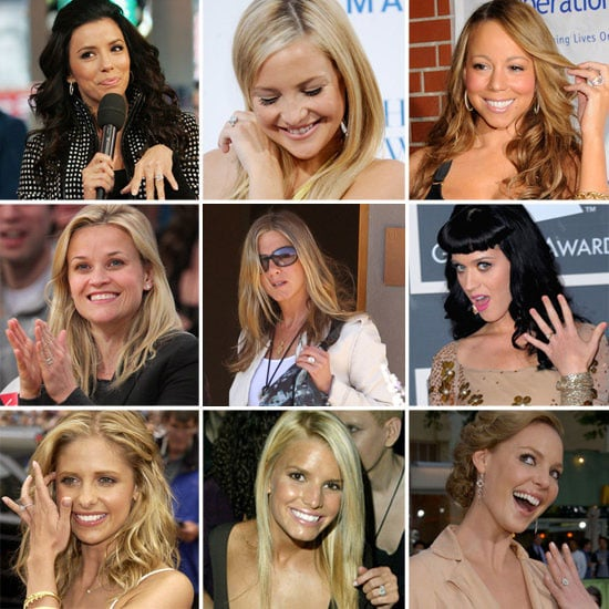 Over 100 of the Best, Biggest and Most Blinged-Up Celebrity Engagement Rings