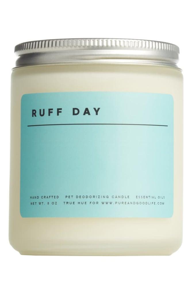Pure + Good Ruff Day Pet Deodorizing Soy Wax Candle