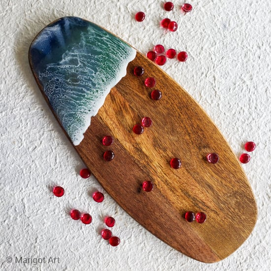 These Painted Charcuterie Boards Are Like Works of Art