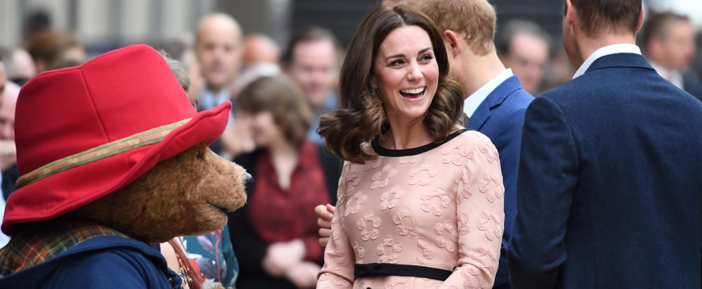 Kate Middleton's Dress Has So Many Details, She's Got to Spin Around For You to See Them All