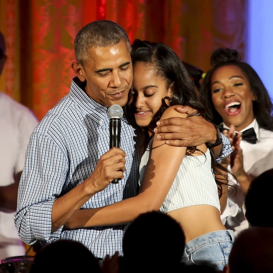 Barack Obama on Social Distancing With Malia's Boyfriend