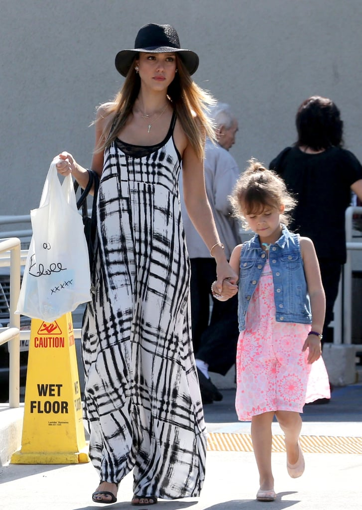 "Jessica Alba Celebrates Mother's Day With Her Family and ""Big Girl"" Honor"