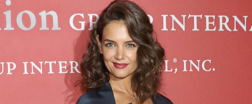 Double Duty! Katie Holmes Does Back-to-Back Events in NYC