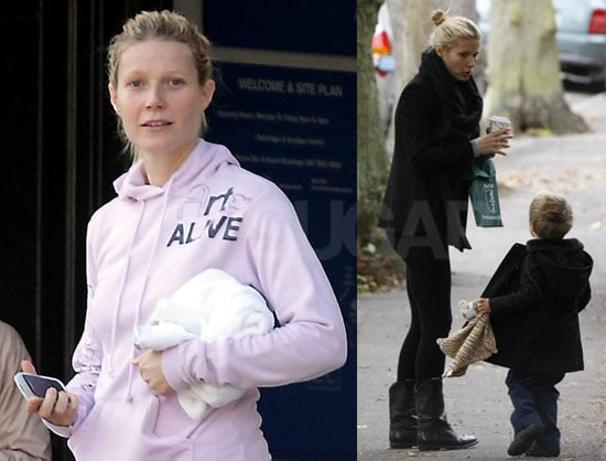 Photos of Gwyneth Paltrow and Moses
