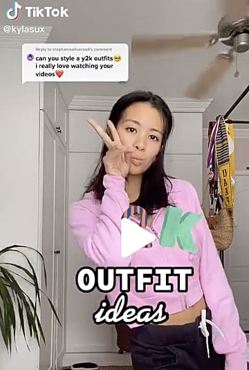How to Wear the Y2K Trend That's All Over TikTok