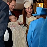 Prince George Christening Pictures