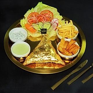 Dubai Gold Samosas
