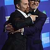 Pictured: Sam Rockwell and Gary Oldman