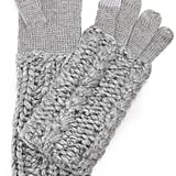 Rebecca Minkoff Hand Knit Cable Texting Muffler Gloves ($58)