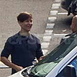 Tobey Maguire in Sydney for The Great Gatsby.