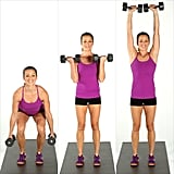 Squat, Curl, and Press